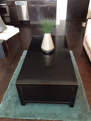 Four Hands Modern Coffee Table-black for Sale in Austin, TX