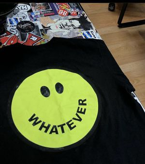 """Supreme """"whatever"""" tee size medium and large for Sale in Oakland, CA"""