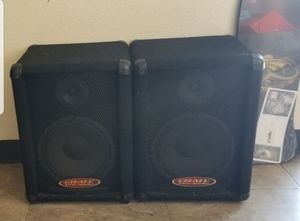 $100 Crate Pro Audio PE10T Speaker Cabinet (pair) (10s and Horn) for Sale in National City, CA