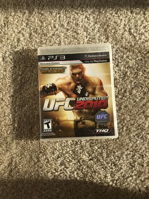 UFC fighting game for PS3 for Sale in Burlington, NC