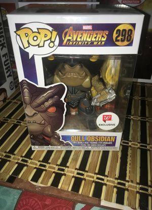 Funko pop avenger villain Cull Onsidian #298 for Sale in Glendale, AZ