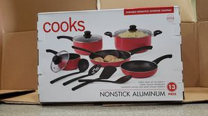 Cooks 13 piece pots & pans set for Sale in Waddell, AZ