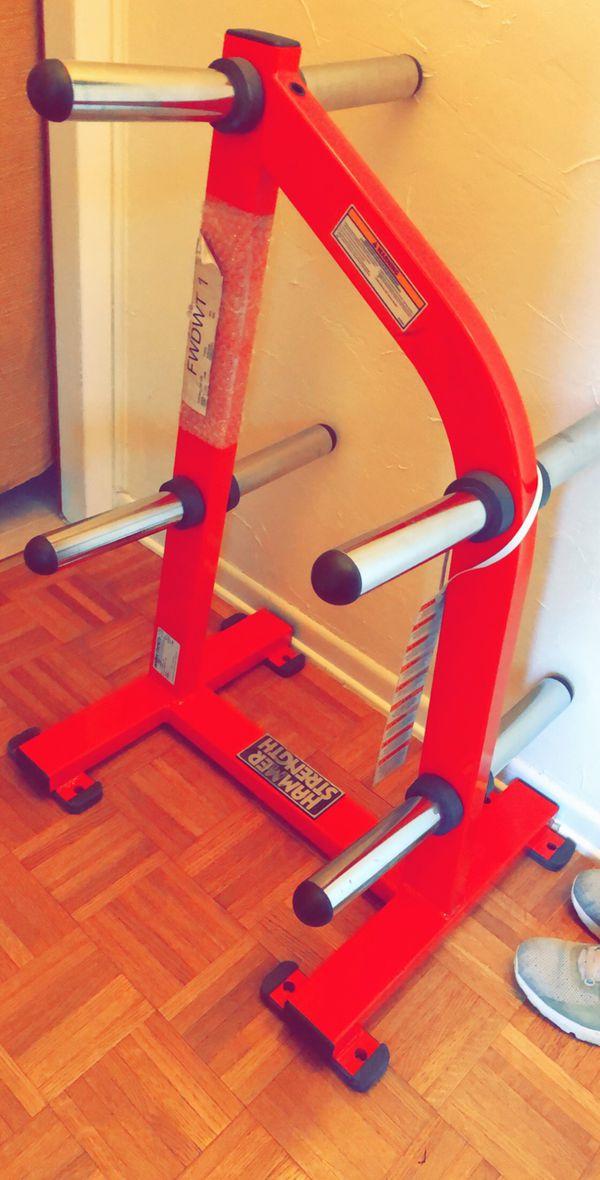 Weight tree plate rack