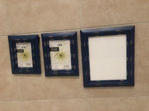Navy frames glass - hobby lobby for Sale in Phoenix, AZ