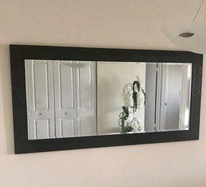 Wall mirror, wall decor, Black wall mirror for Sale in Miami, FL