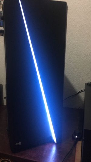 AeroCool Cylon RGB Mid Tower with I5 2500k for Sale in Sunnyvale, CA