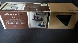 Allen & Roth 5 piece wall shelves and frames for Sale in Denver, CO