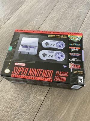 Super Nintendo Classic Edition w/additional Games! for Sale in Huntington Beach, CA