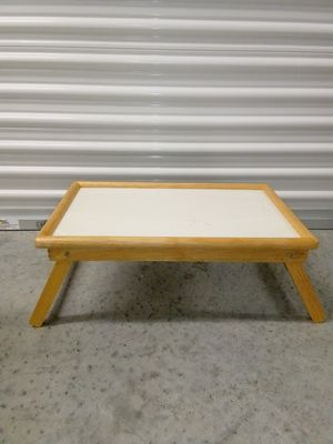 Foldeable Bed/Lap Table Wood for Sale in Miami, FL