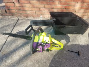 Poulan Pro wild cat chainsaw for Sale in Rockville, MD