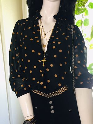 Polka dot Blouse for Sale in Fresno, CA