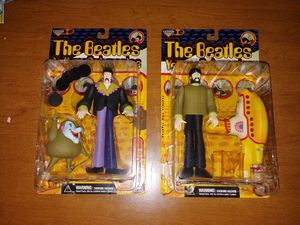 The Beatles Yellow Submarine action figures by McFarlane Toys (set of four) for Sale in Davenport, FL