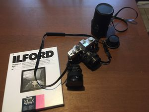 Minolta SRT 101 with 50mm and wideview lens for Sale in Los Angeles, CA