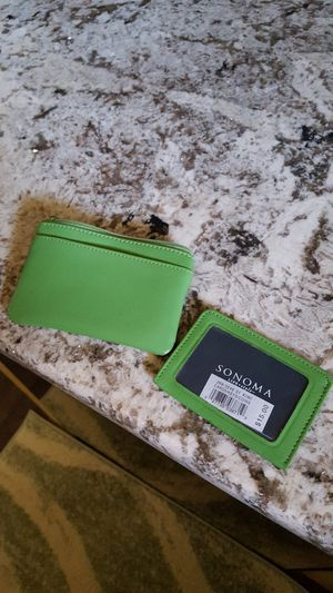 Leather small wallet I.D. for Sale in Taylor, MI