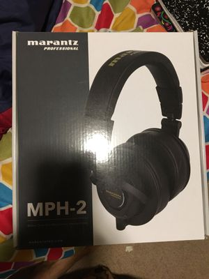 Marantz professional headphones mph2 for Sale in San Jose, CA