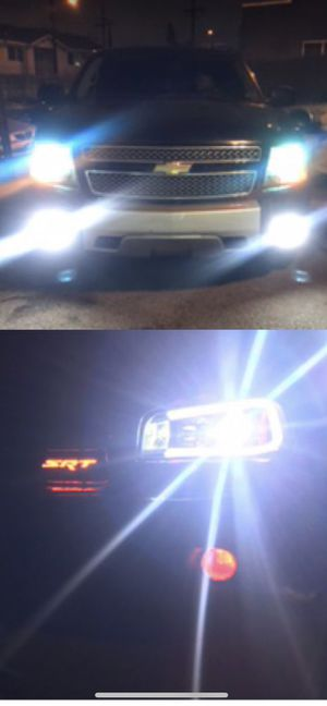 High quality US brand daylead led headlights or foglights 25 pair for Sale in Los Angeles, CA