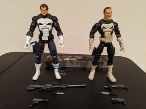 Marvel legends face off punisher and jigsaw for Sale in Montclair, CA
