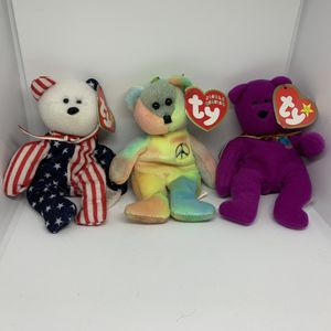 Beanie babies tiny bears new for Sale in Davis, CA
