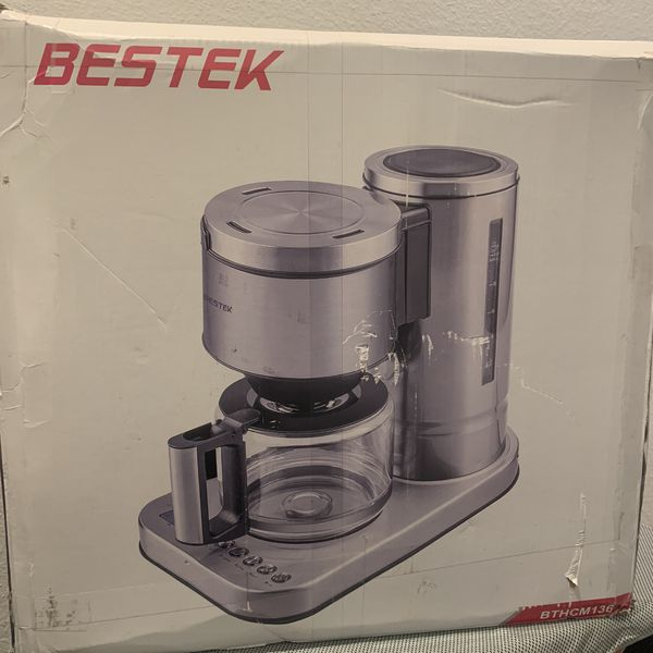 BESTEK 3.5 Bar Steam Espresso and Cappuccino Maker Coffee Machine