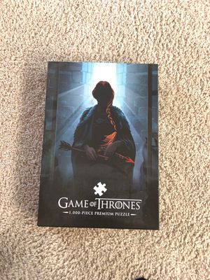 Game of Thrones 1000 piece puzzle for Sale in Bothell, WA