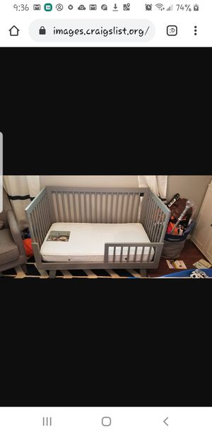 Babyletto Hudson 3-in-1 Convertible Crib with Toddler Bed Convers for Sale in Burien, WA