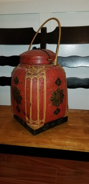 Antique large Chinese rice basket for Sale in Woodstock, GA