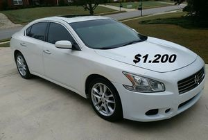 2013 Nissan Maxima $1200 --Fully maintained-- New Tires! for Sale in Tulsa, OK