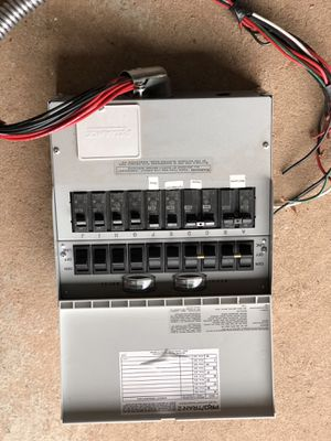 Generator Transfer switch- hook up for generator to house for Sale in Whitehouse Station, NJ