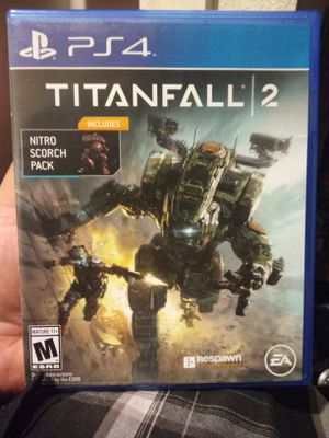 Titan fall 2 ps4 game for Sale in Riverside, CA