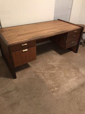 Oak office desk for Sale in Fort McDowell, AZ