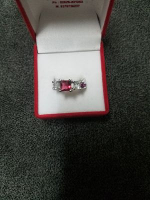 Sterling silver diamond ring for Sale in Hawthorne, CA