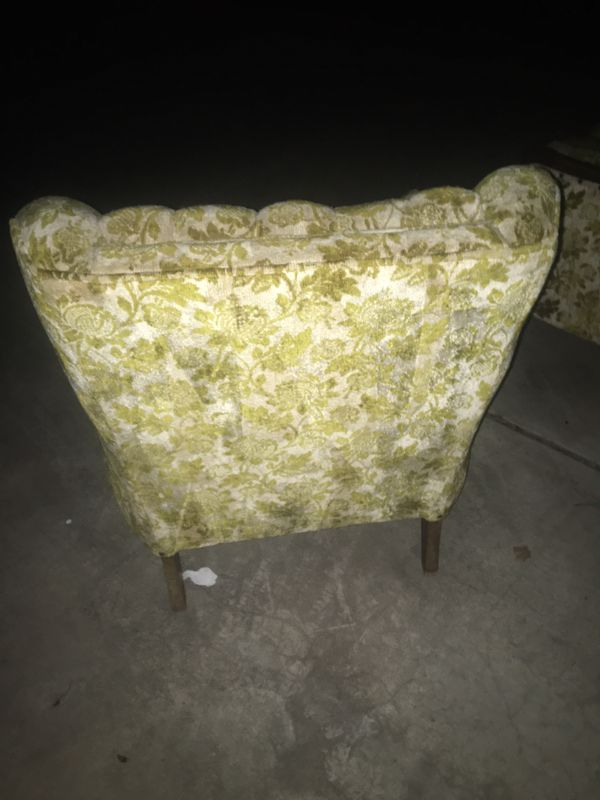 50's COUCH AND CHAIR IN GREAT SHAPE