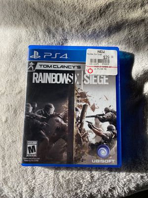 Rainbow six siege PS4 $25 for Sale in Las Vegas, NV
