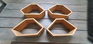 Wooden wall decorative shelves for Sale in Rockville, MD