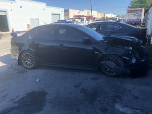 2009 Mitsubishi Lancer Ralliart parting out parts car 4B11 2.0L turbo AWD SST AWD Transmission for Sale in Miami, FL