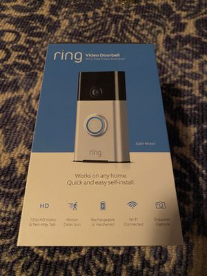 """Ring"" door bell for Sale in Elyria, OH"