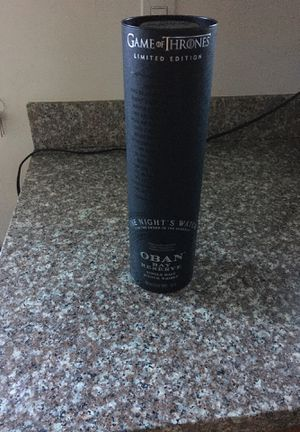 Oban Game of Thrones limited edition for Sale in Burlingame, CA