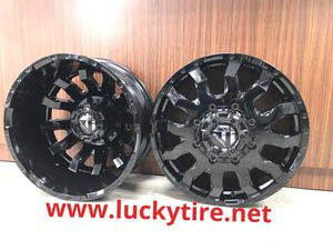 """20"""" fuel DUALLY wheels tires sale__ in stock. for Sale in Houston, TX"""