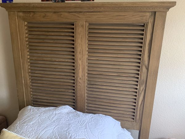 Restoration Hardware Twin bed w/ mattress