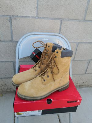 Brand new wolverine steel toe work boots size 12 for Sale in Riverside, CA