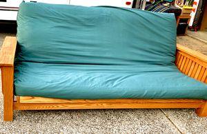 Solid Oak Queen Futon! for Sale in Portland, OR