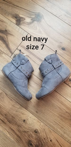 Size 7 toddler girls boots for Sale in Piedmont, SC