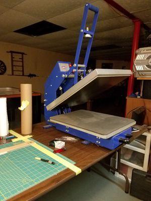 Heat press for Sale in Elmwood Park, IL