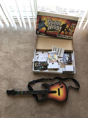 Xbox 360 Wireless Guitar Hero Guitar for Sale in Coventry, RI