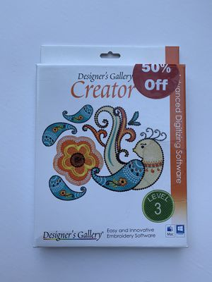 Designers Gallery Creator 3 - Embroidery Software for Sale in Washington, DC
