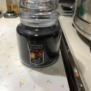 Yankee Candle Crisp Fall Night for Sale in Everett, MA