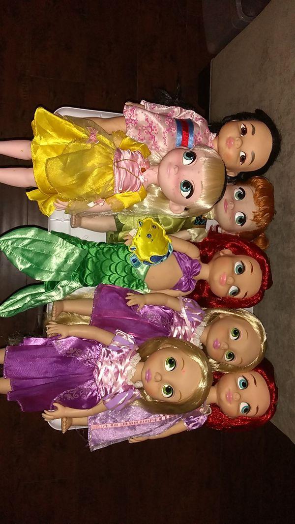 Disney Animators Collection Princess Dolls Bundle $30 For All