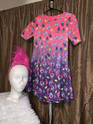 Trolls dress Halloween costume size 10-12 for Sale in Chula Vista, CA