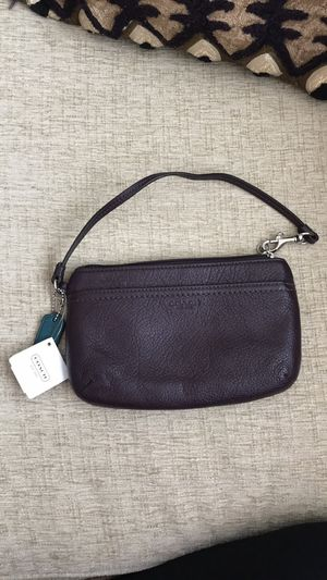 COACH wristlet new with tags! for Sale in Seattle, WA