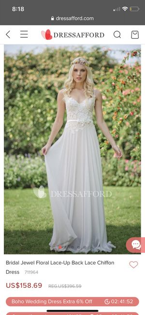 New ivory wedding dress for Sale in Chino, CA